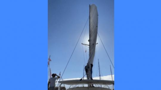 Les péripéties de la livraison du bateau